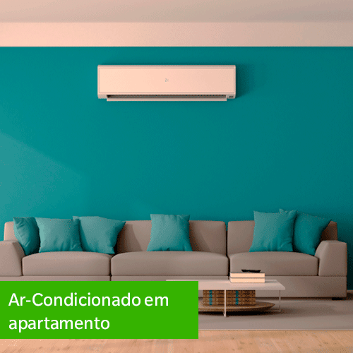 Ar-condicionado em apartamento