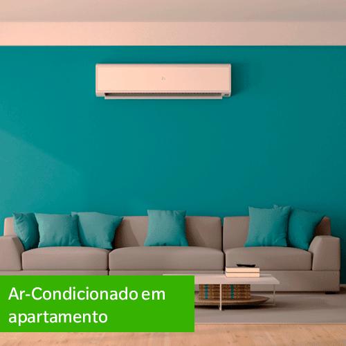Ar-condicionado em apartamento